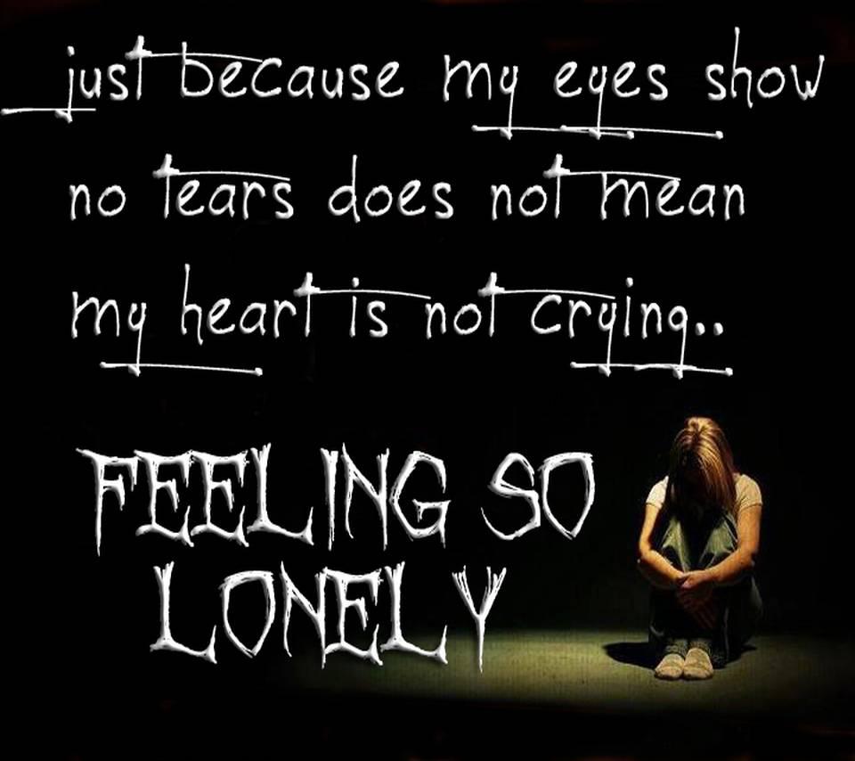 Feeling So Alone