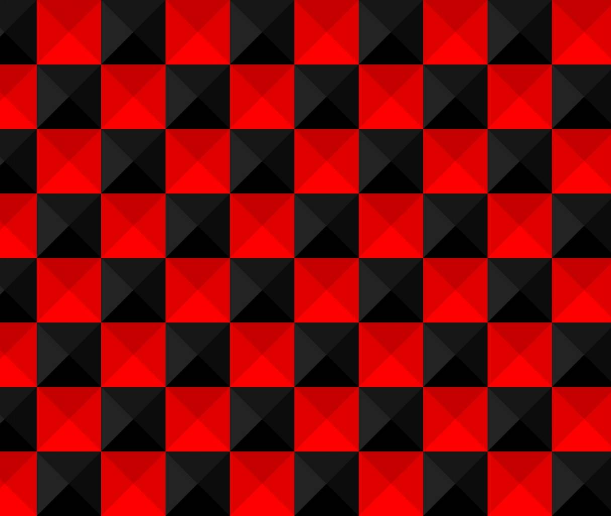 Red Black Square