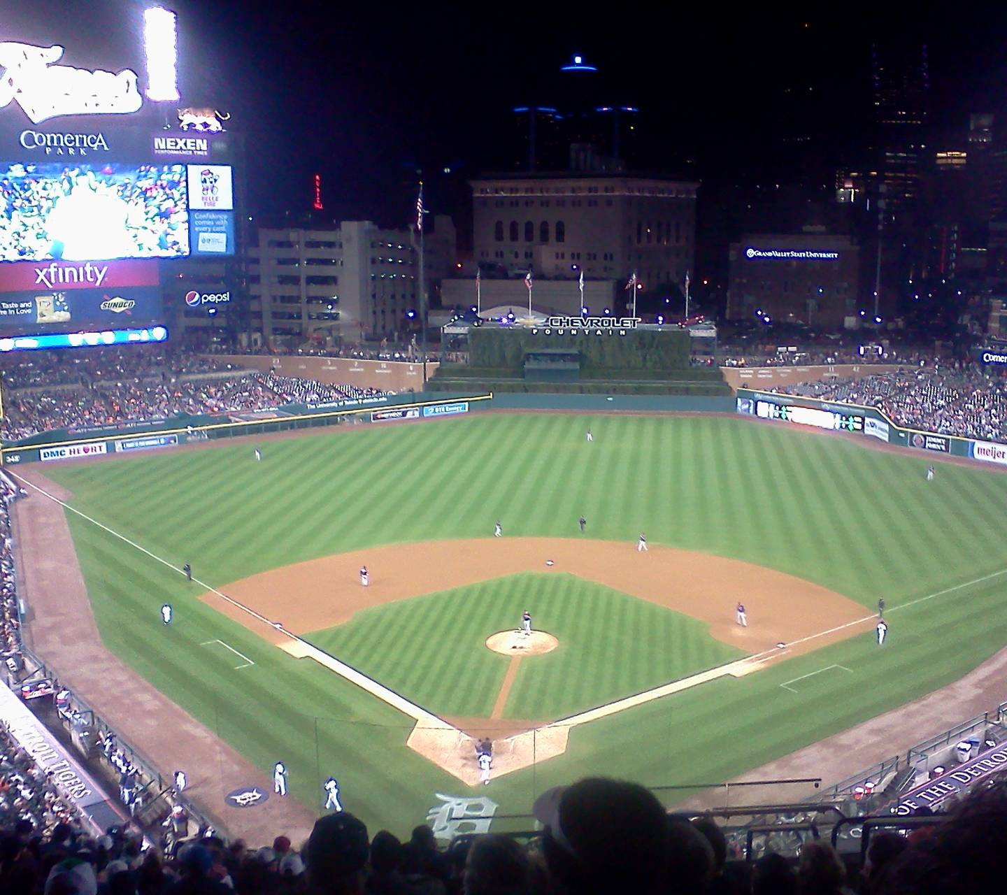 Comerica At Night Wallpaper By Xxhawesxx Bc Free On Zedge