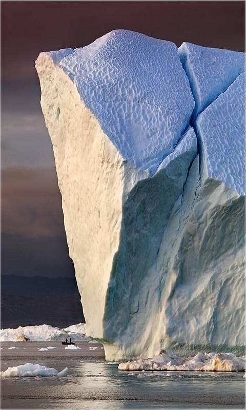 Broken Glacier