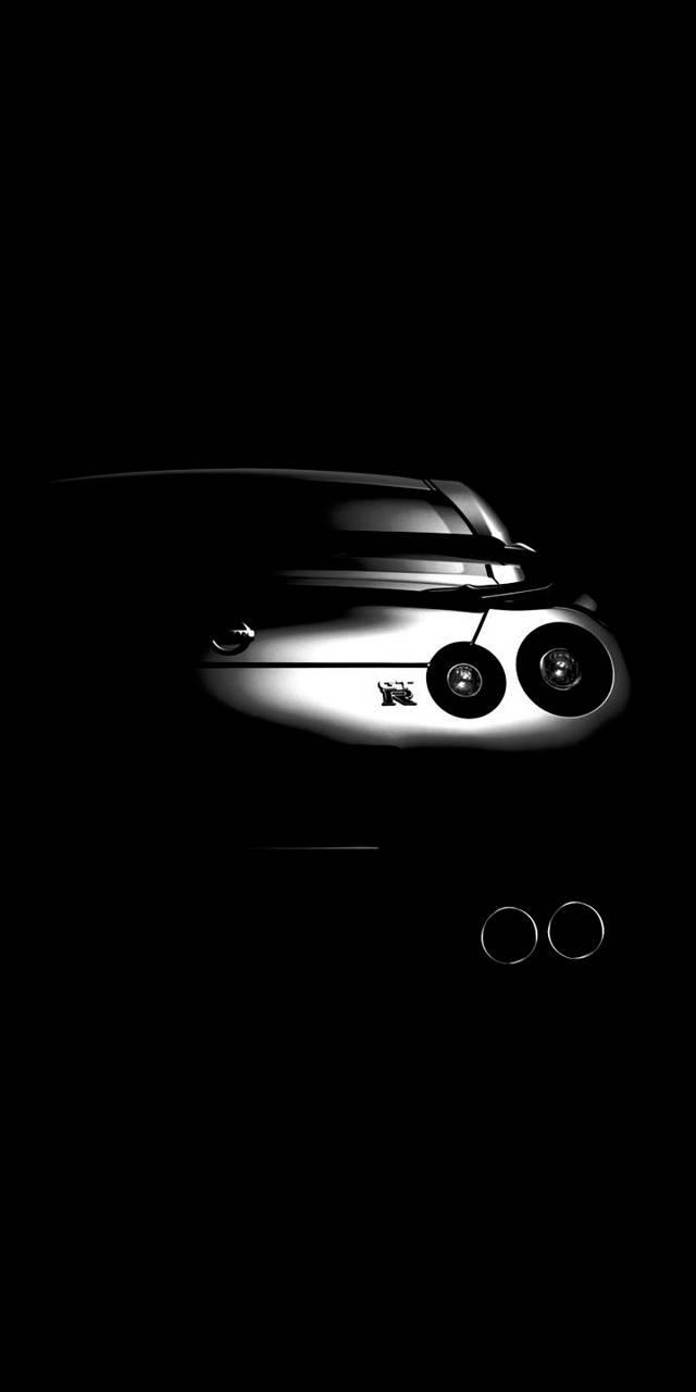 Nissan R35 GTR Black