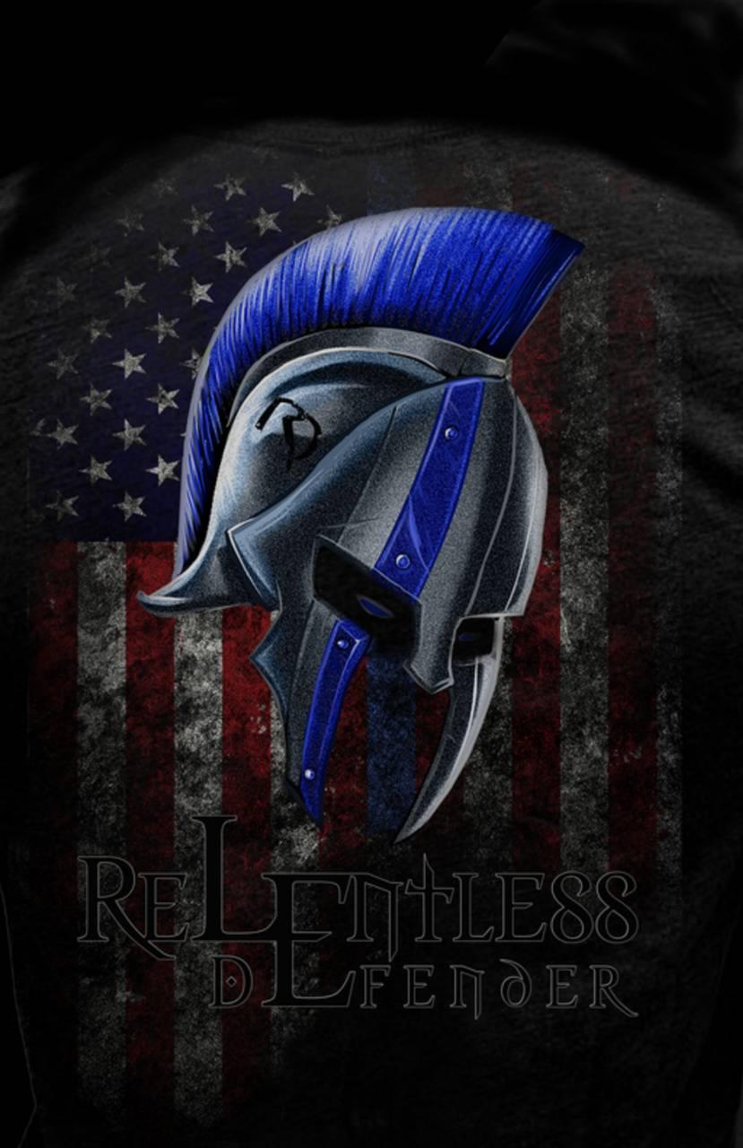 Spartan thin blue