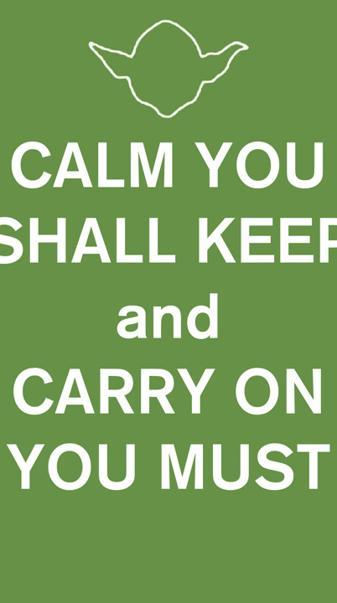 Yoda Keep Calm