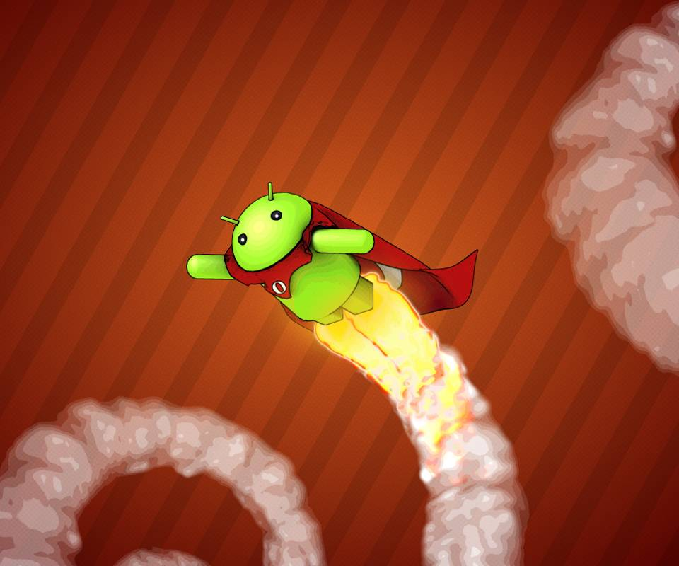 Flying Android