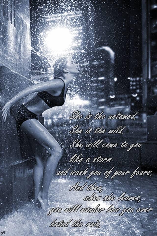 She is Rain