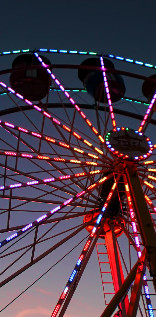 Colorful Ferriswheel