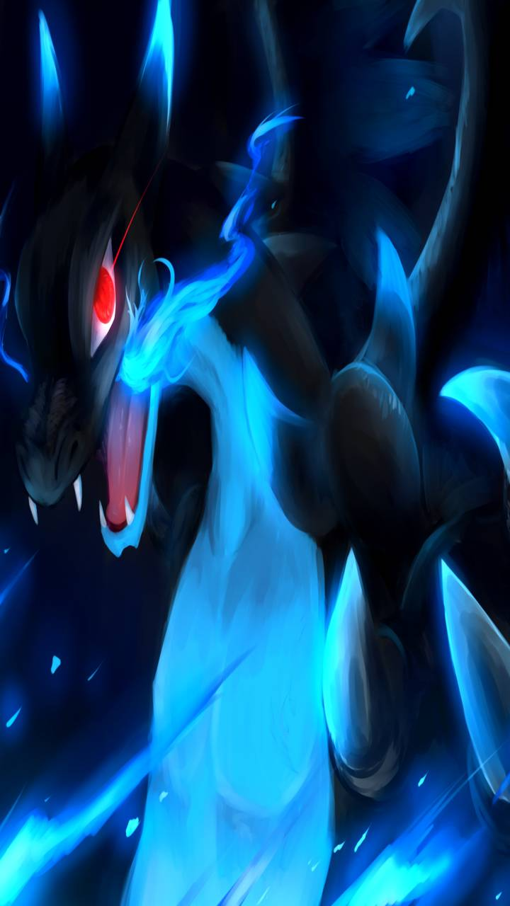 Mega Charizard X Wallpaper By Siilverr