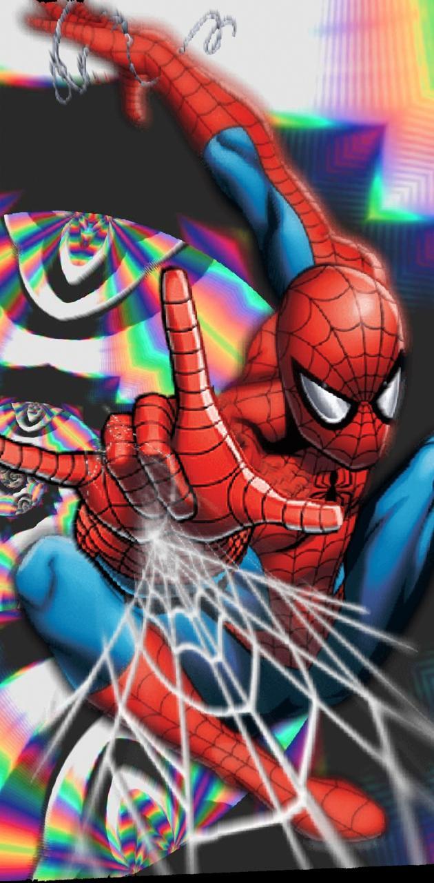 Acid spidermanweb