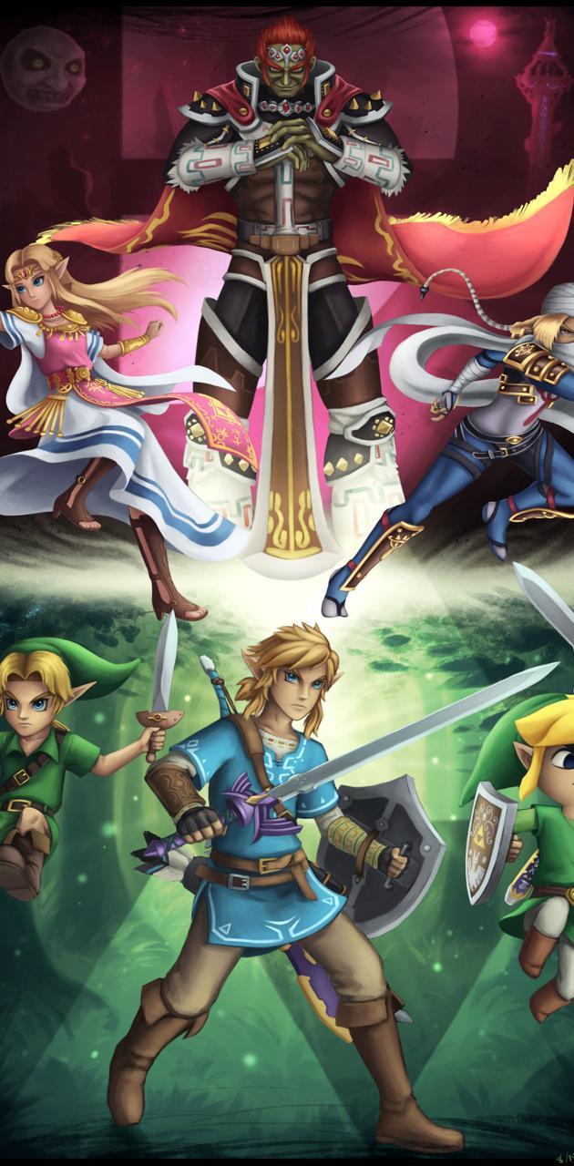Legend of Zelda Crew