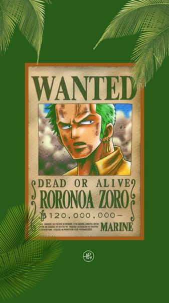 Roronoa Zoro Wanted