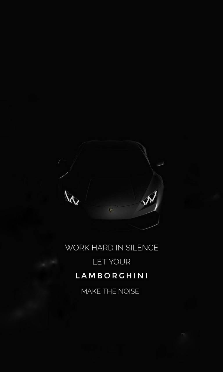 LAMBO Success Quote