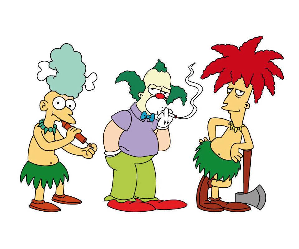 Krusty Mel And Bob