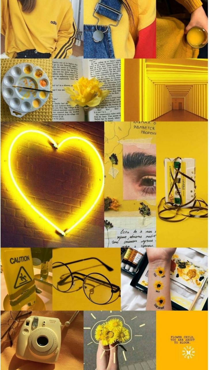 Yellow Aesthetic 3 Wallpaper By Unicorniesyt 5b Free On