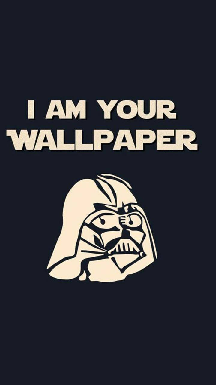 I am wallpaper