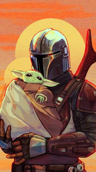 Yoda an mandalorian