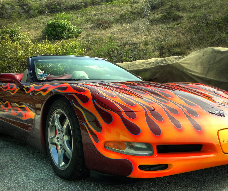 Corvette Flames