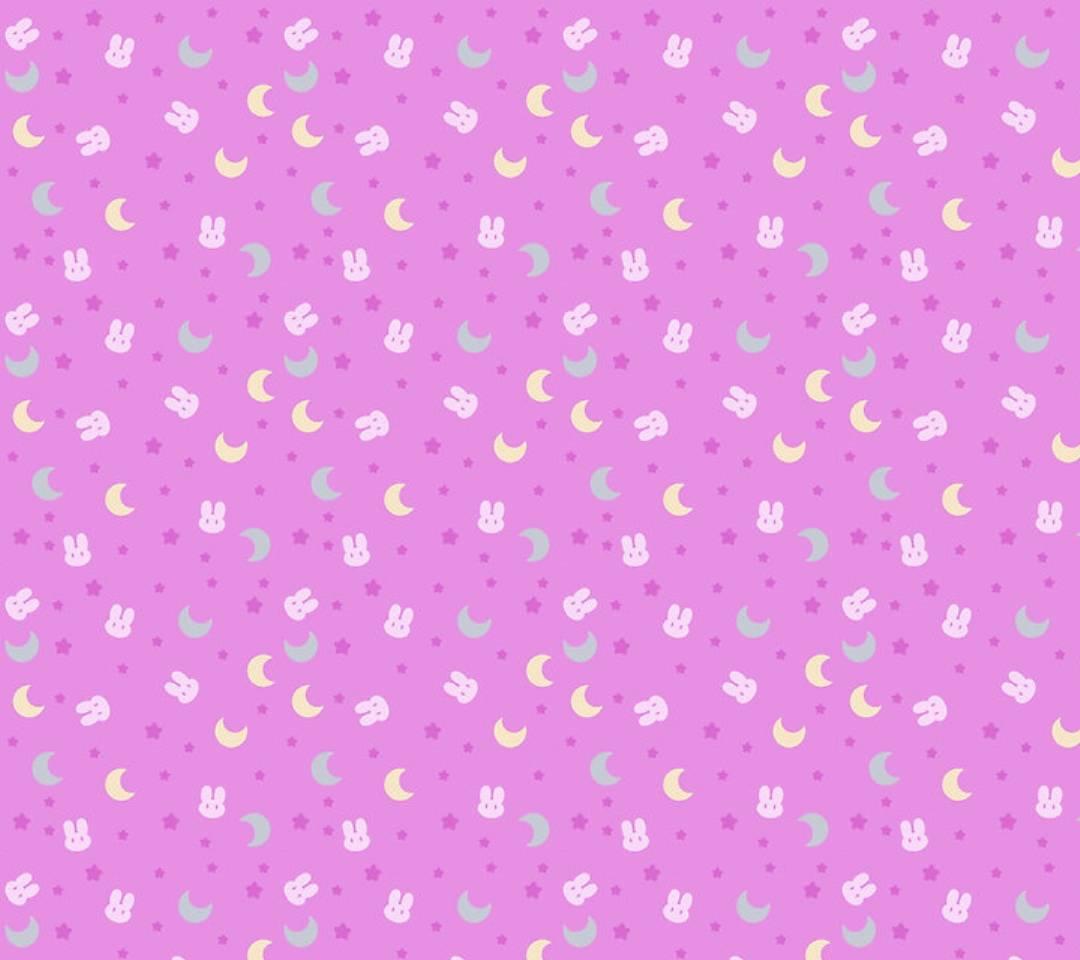 Bunnies moon stars
