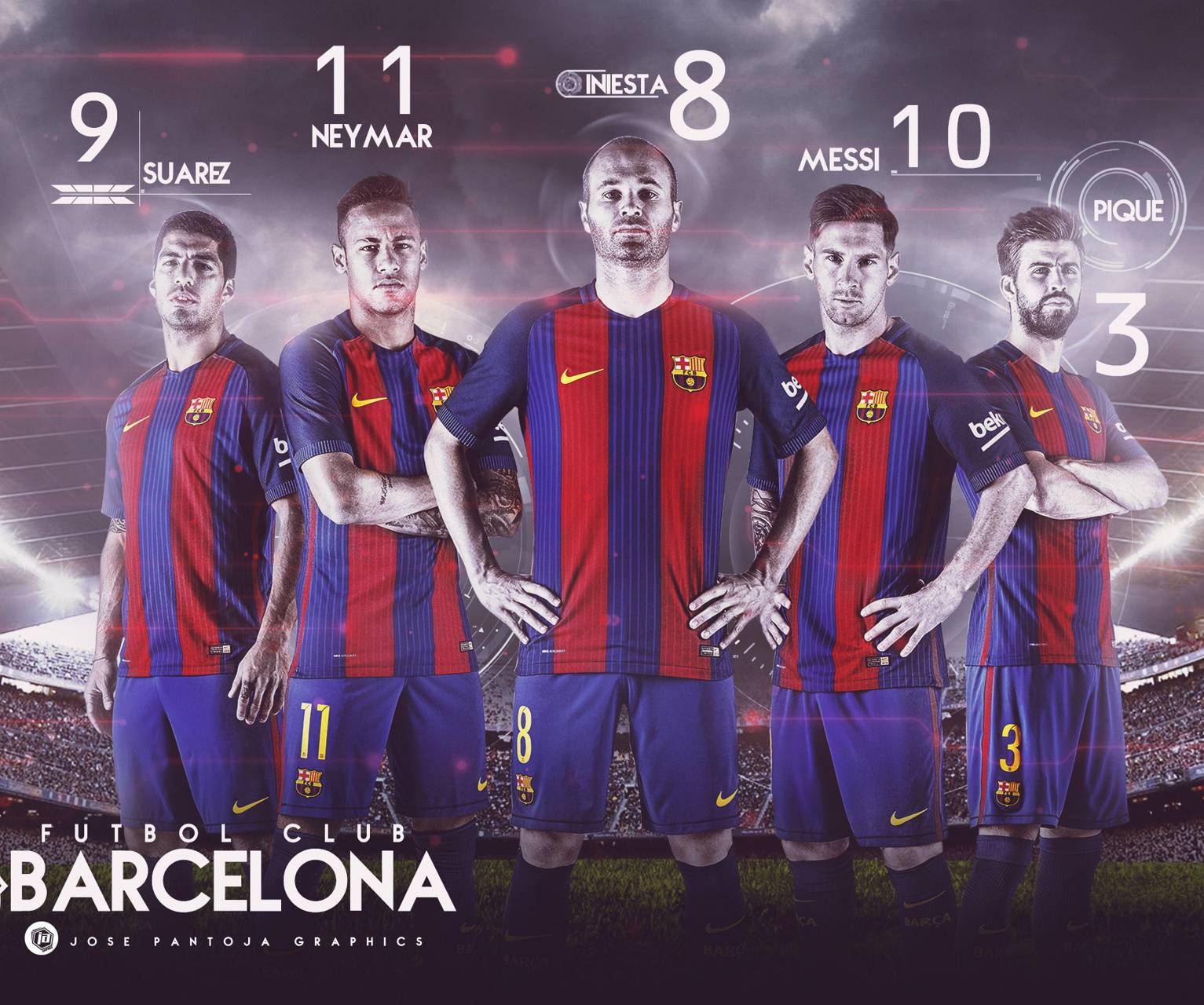 Fc Barcelona 2017