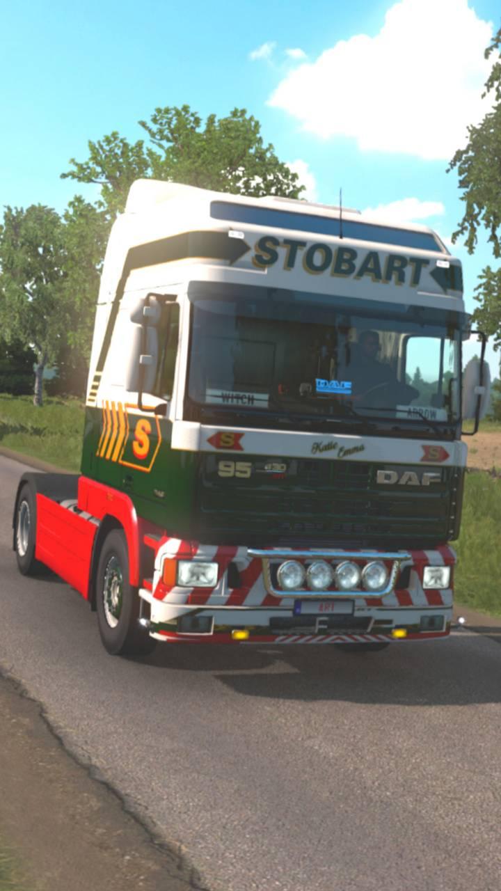 DAF 95 ATI Stobart
