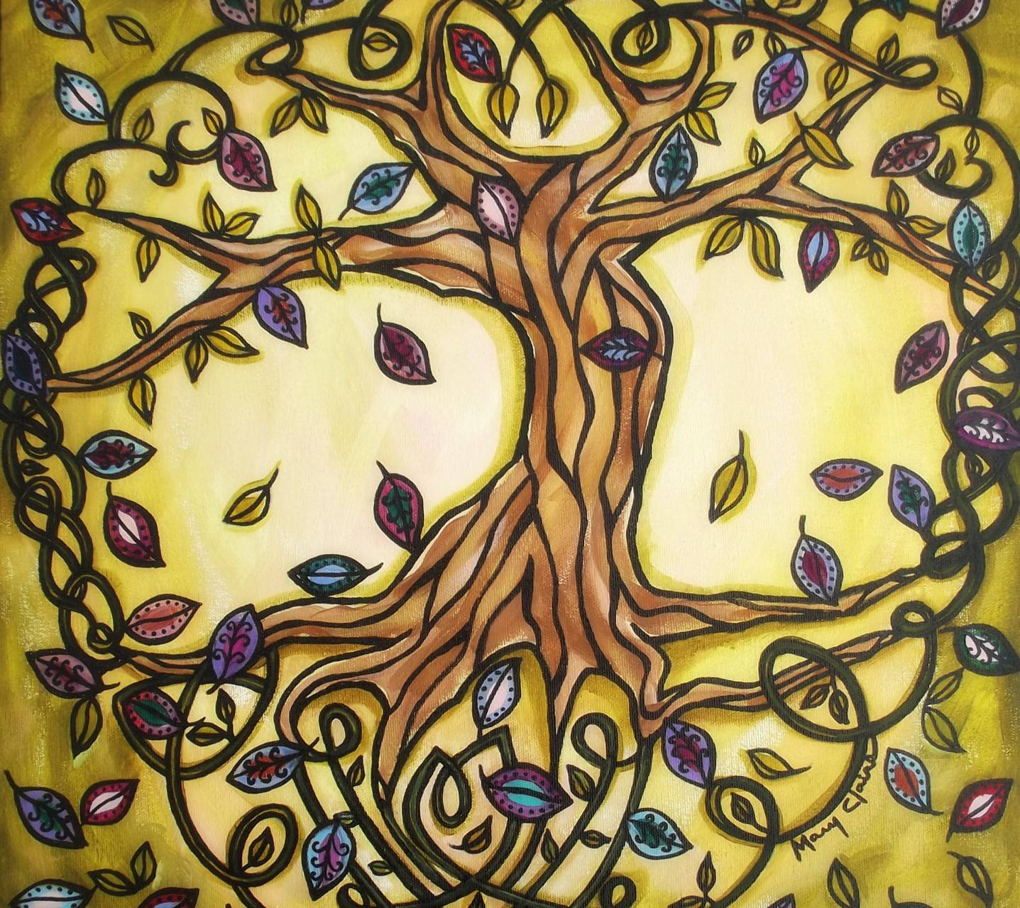 Celtic Tree Of Life Wallpaper By Deadgirl75 46 Free On Zedge