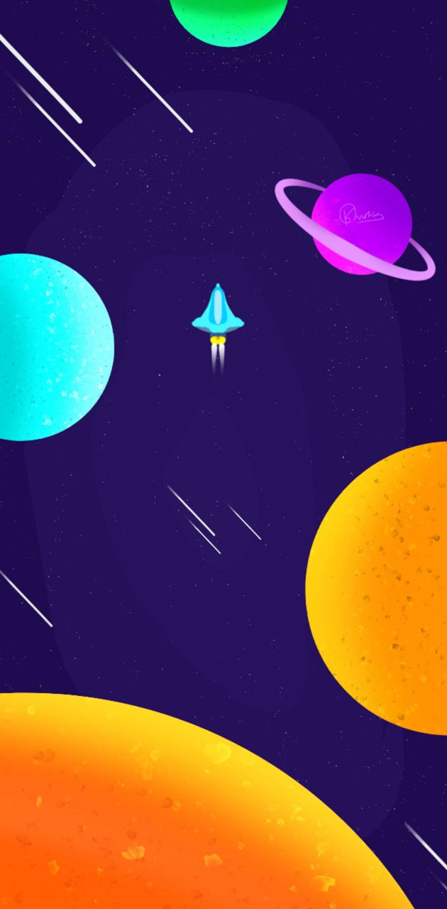Galaxy tour Space