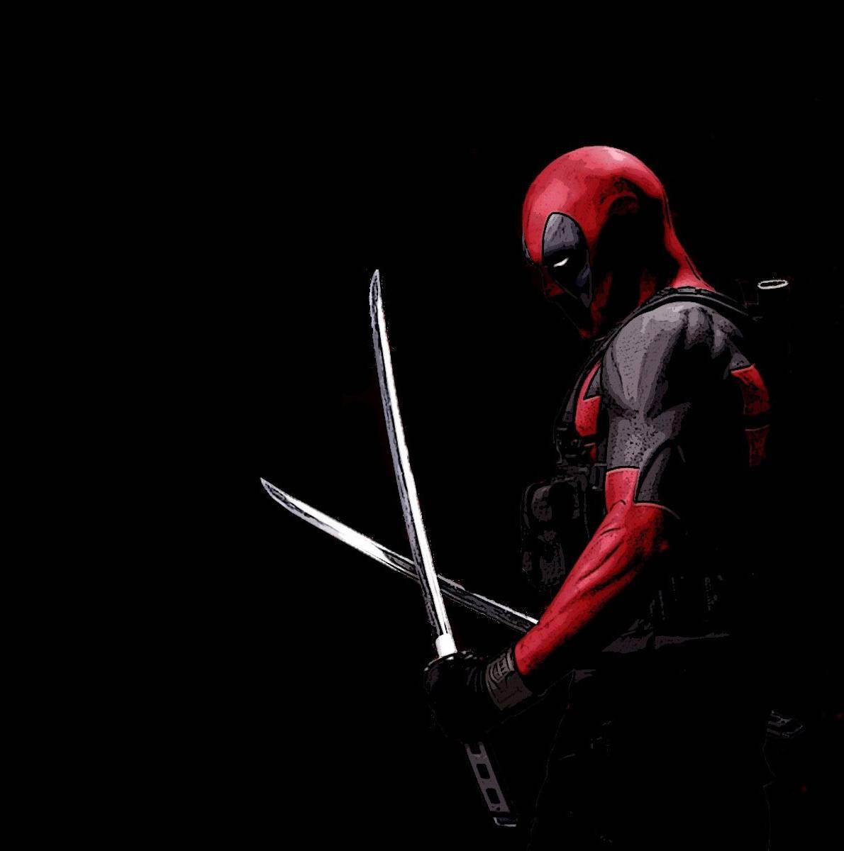 Wallpaper Iphone Superhero: Deadpool Hd Wallpaper By Akashkhan23