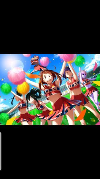 Mha cheerleading