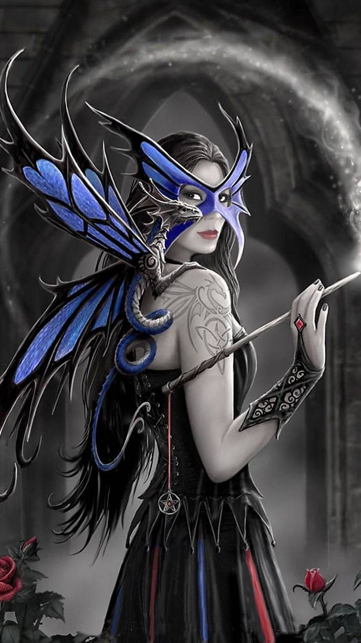 Gothic Fairy Wallpaper By Hende09 2d Free On Zedge