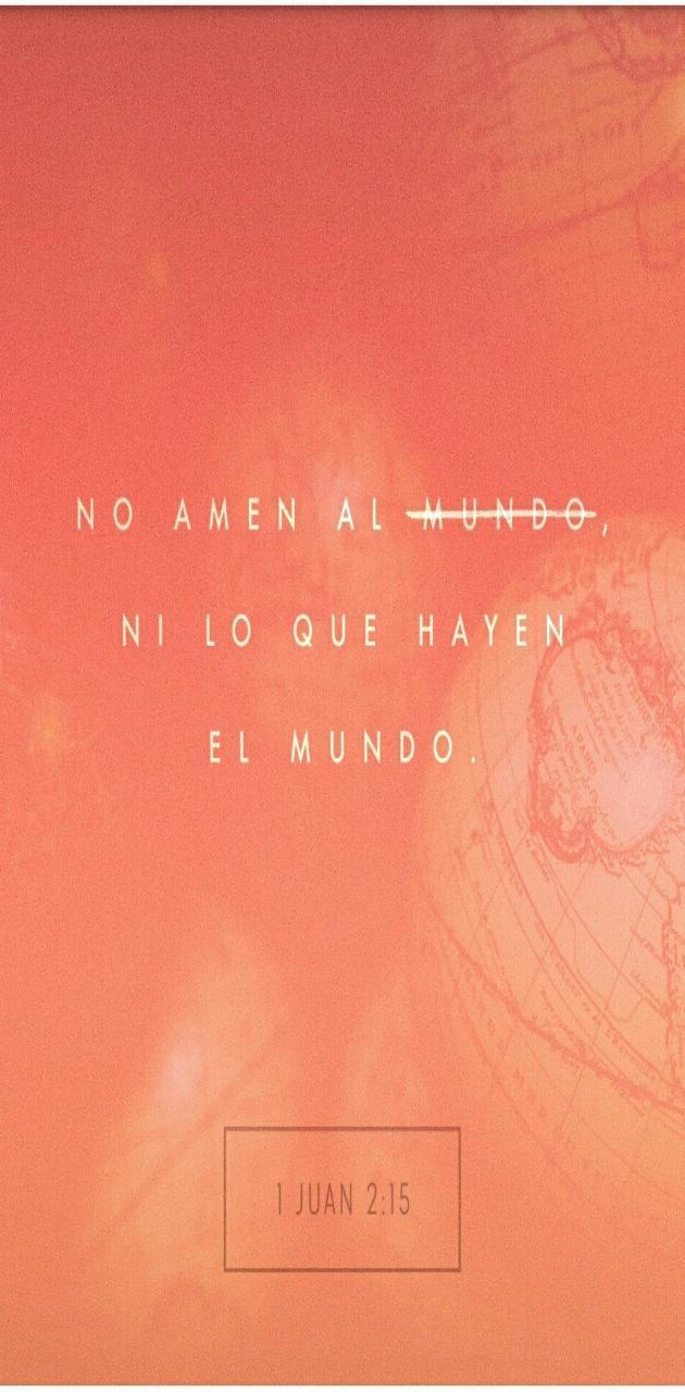 Juan 2 15