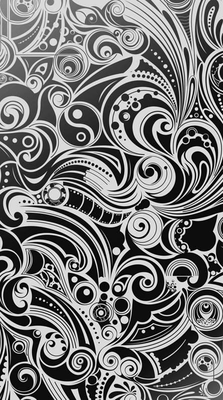 Pattern Black White