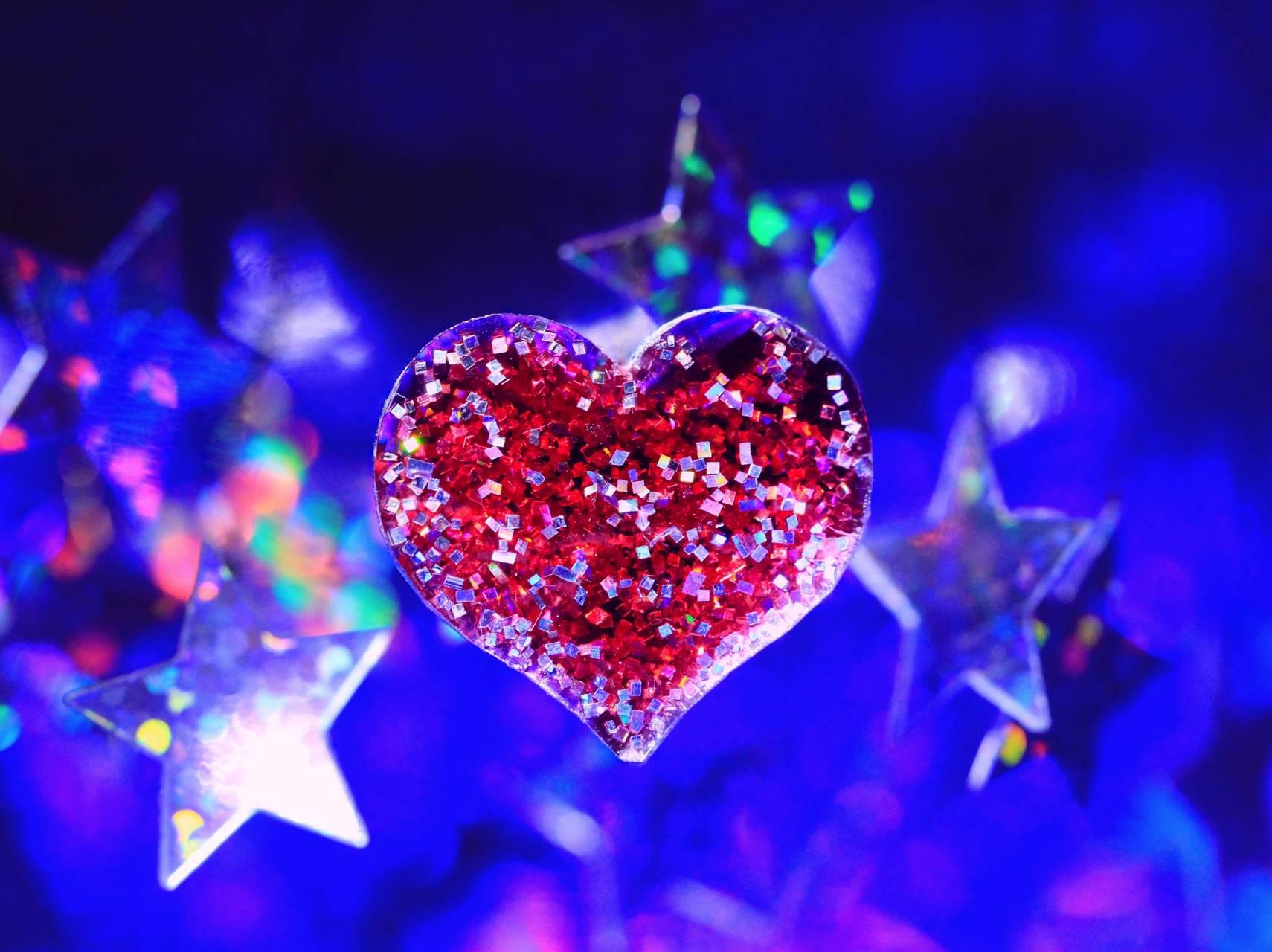 Картинки и блестяшки с сердечками