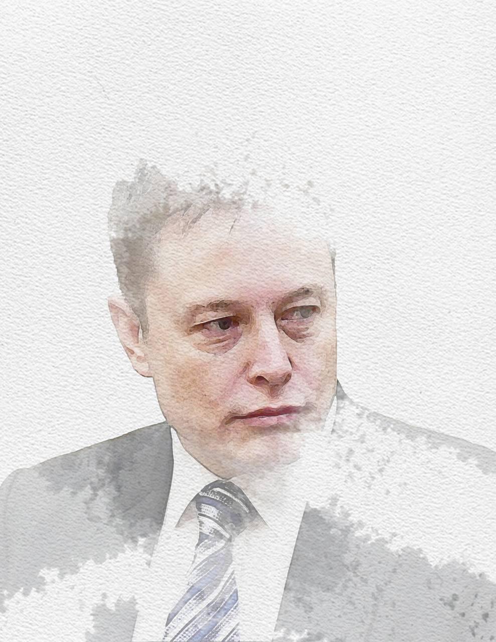Elon Musk Watercolor Wallpaper By Jodankinsins 54 Free