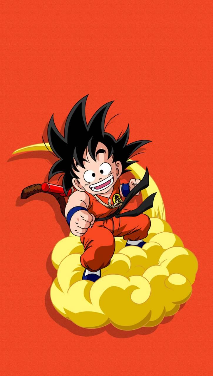 Kid Goku Magic Cloud Wallpaper By Pineapple Design Aa Free On