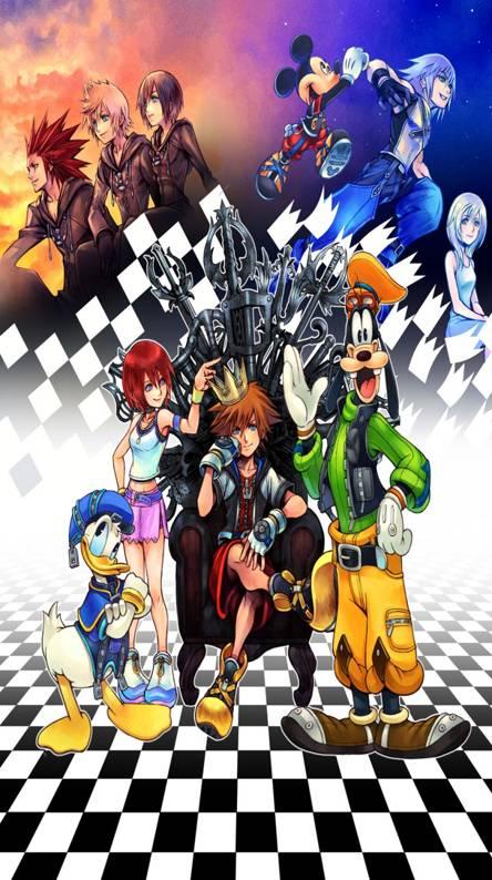 Kingdom Hearts Phone Wallpaper 4k Ranktechnology
