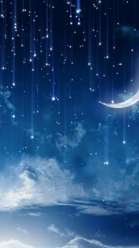 Image result for crescent moon with drops