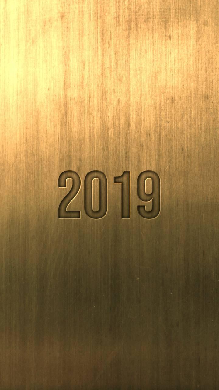 2019 Carved Gold