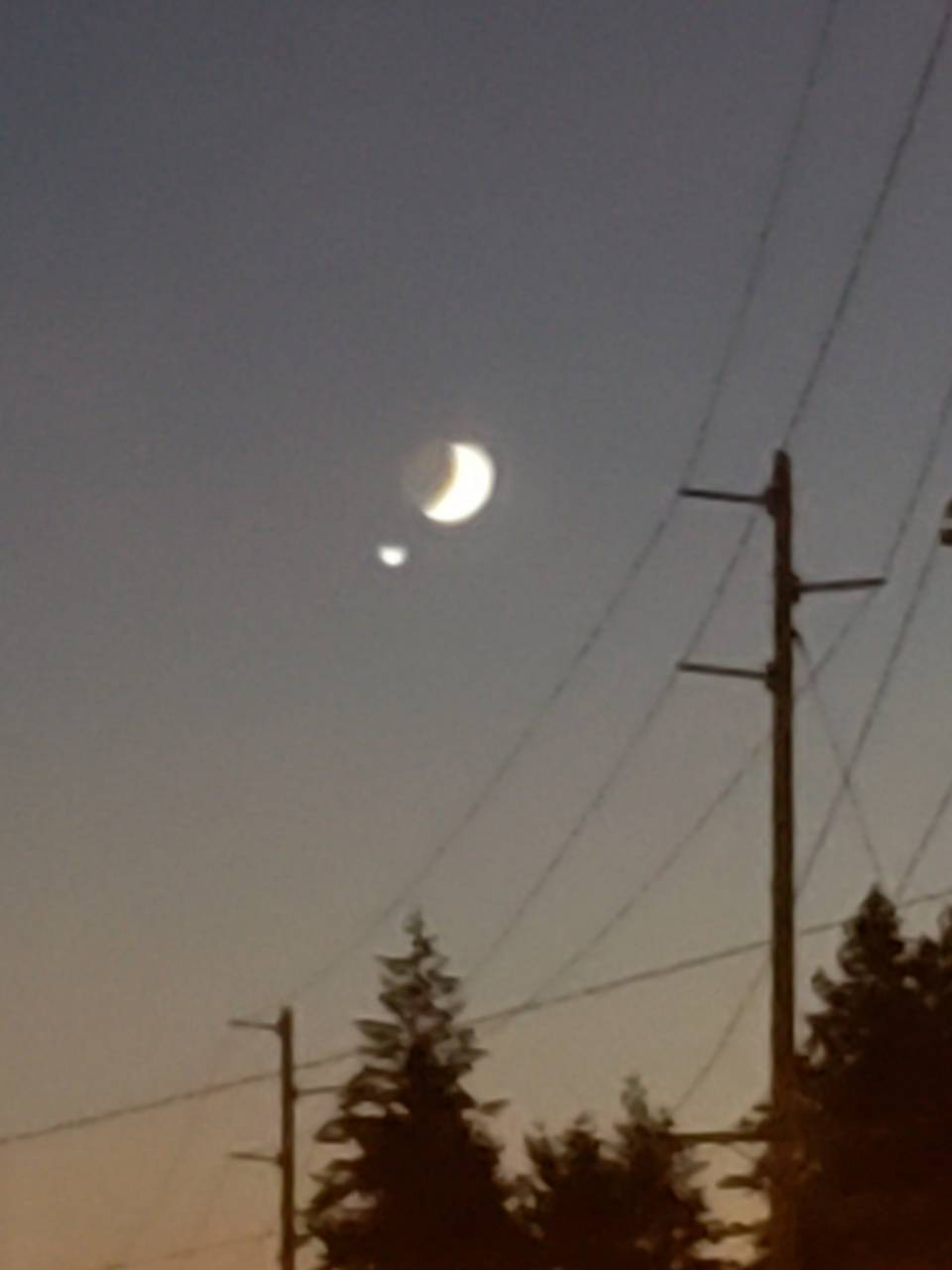 Jumped Moon On Man