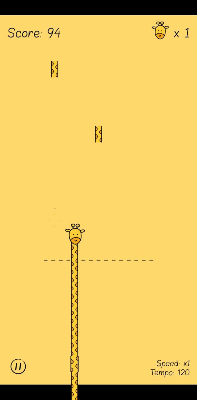 Like a giraffe
