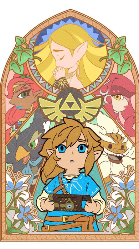 zelda Breath mosaic