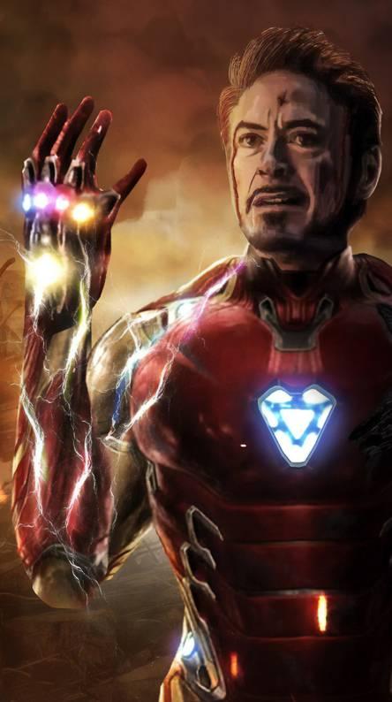 Download Avengers Endgame Tony Stark Snap Wallpaper Cikimmcom