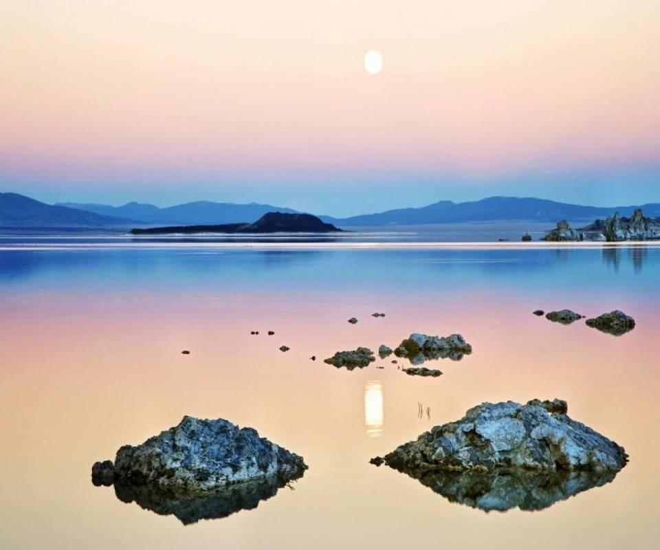 Horizontal Lake View