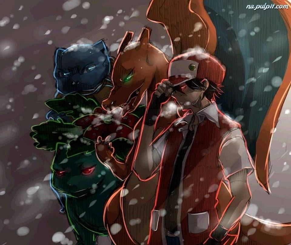 Red And Pokemon