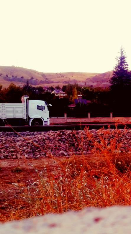Truck Autumn
