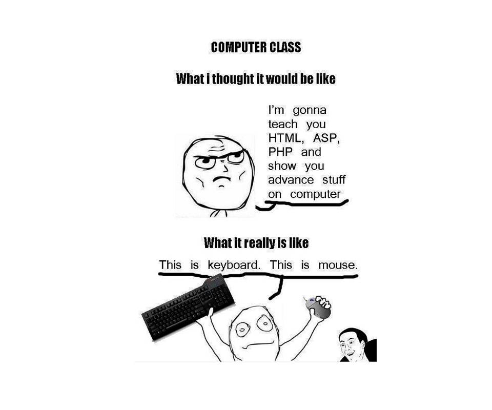 Funny Computer Class