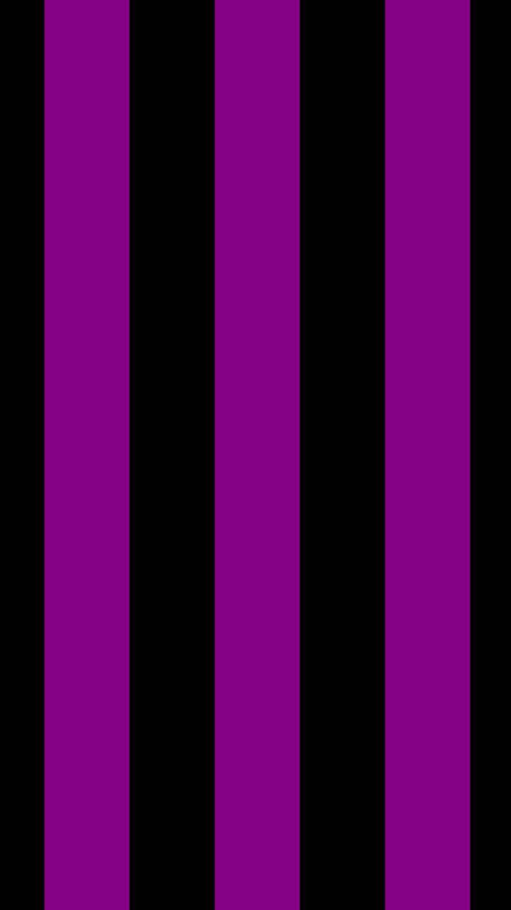 purple black strips