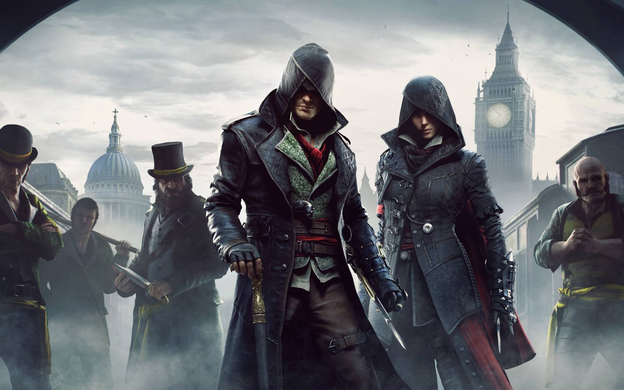 Jacob and Evie Frye