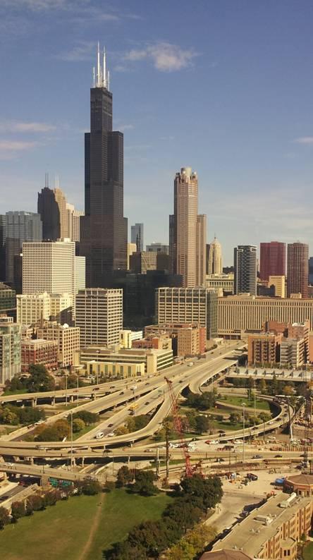 Chicago Skyline- UIC