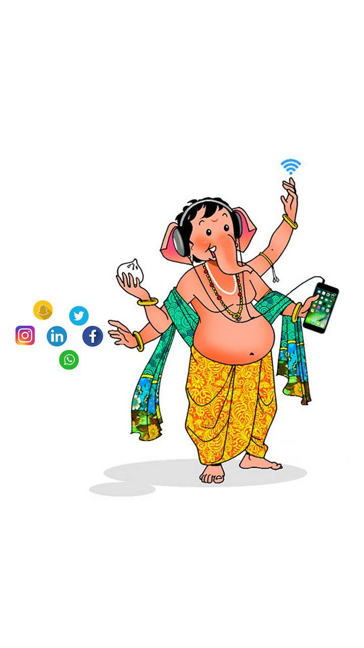 Ganesh social media
