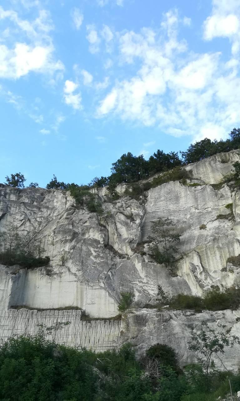 Rock mine in Hungary