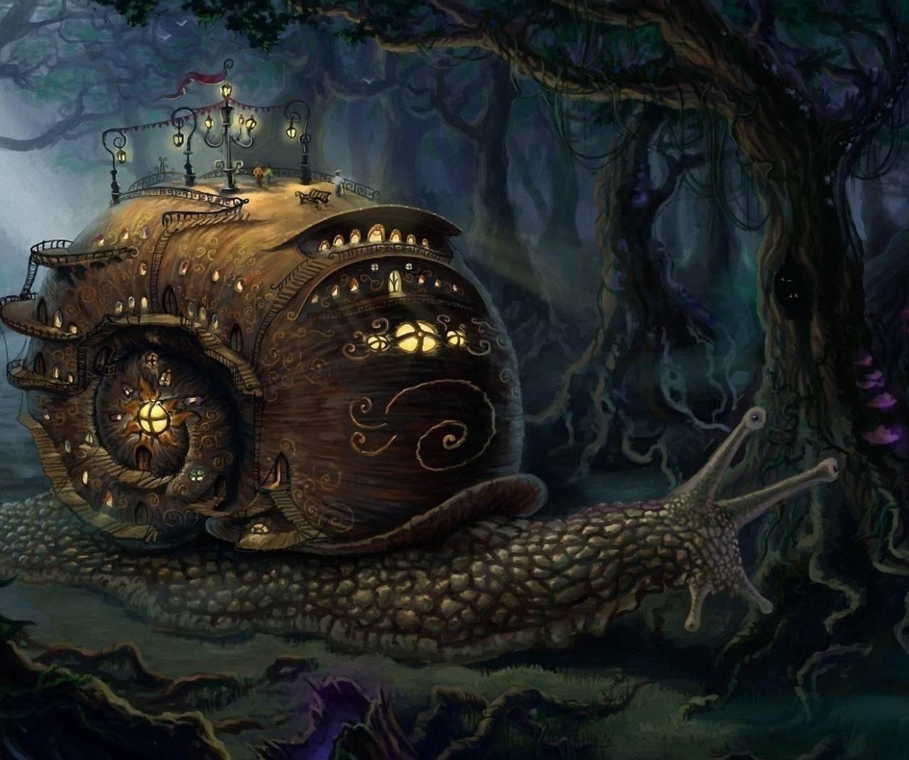 Fantasy Snail